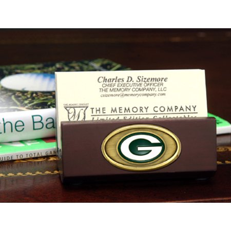 Green bay packers business card holder walmart green bay packers business card holder reheart Gallery