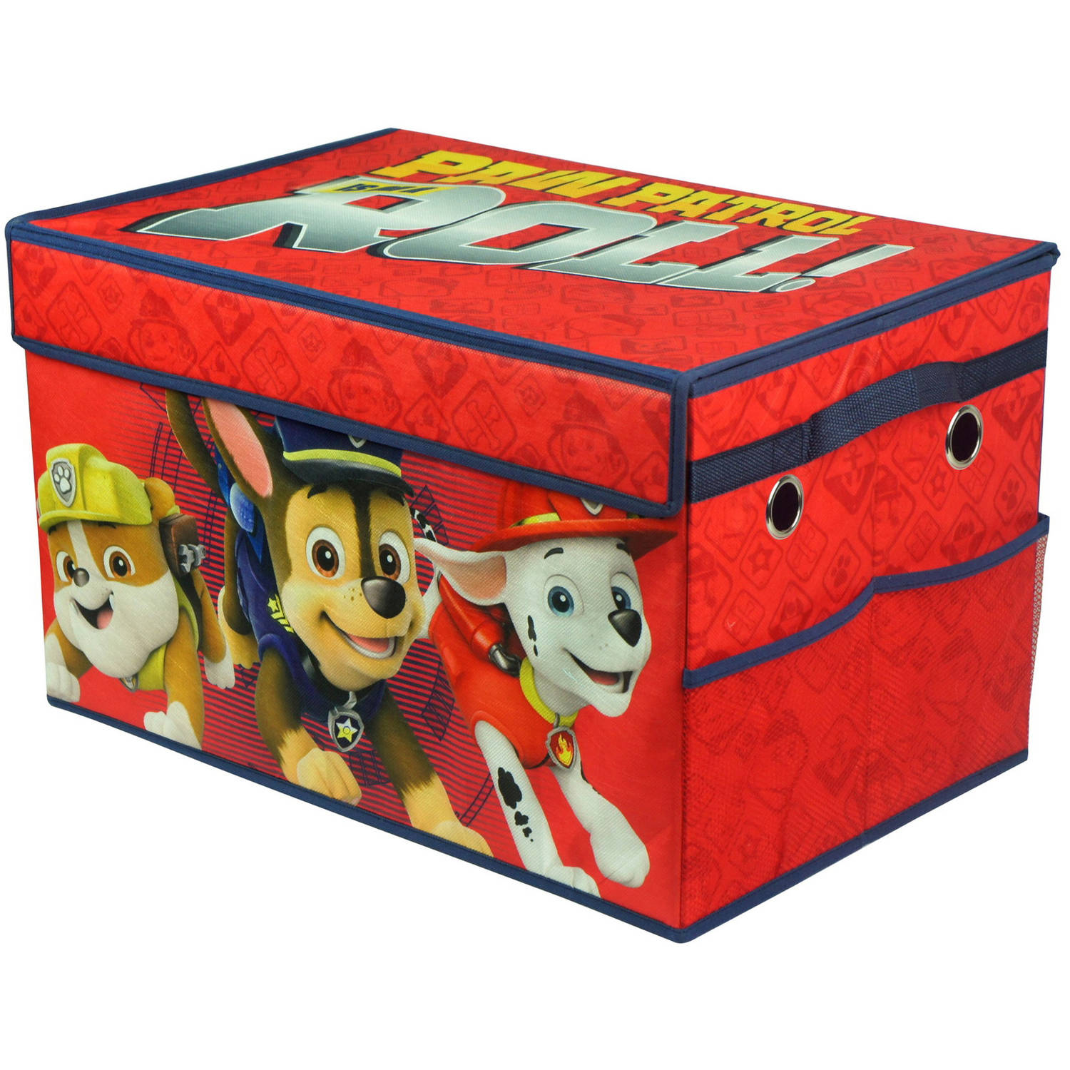 Paw Patrol Boy Collapsible Toy Storage Trunk  sc 1 st  Walmart & Toy Boxes for Boys Aboutintivar.Com