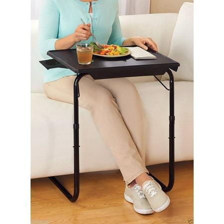 Mainstays Tray Table Walnut Brickseek