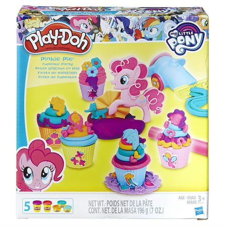 Play-Doh My Little Pony Pinkie Pie Cupcake Party Set with 5 Cans of