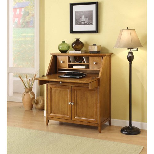 Canopy Cornerstone Collection Drop Lid Desk Chestnut