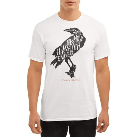 Game of Thrones End of Watch Raven Short Sleeve Tee - Raven Cosplay Teen Titans