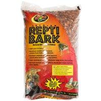 Zoo Med Premium Repti Bark Natural Reptile Bedding 24 Quarts - Pack of 2
