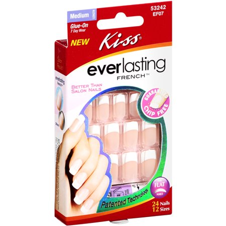 KISS Everlasting French® Nail Kit - Perpetual (Best Cheap Fake Nails)