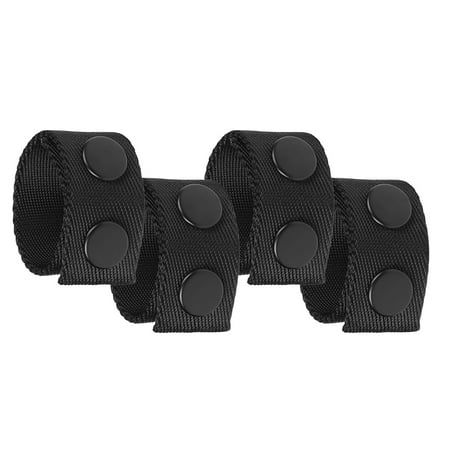 4 PCS Utility Belt Keepers Removable Snap Waist Belt Keepers for 2.0in Waist Belt Thomas And Betts Snap N Seal