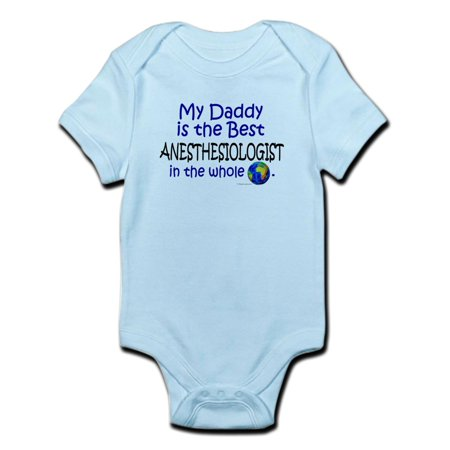 CafePress - Best Anesthesiologist In The World (Daddy) Infant - Baby Light