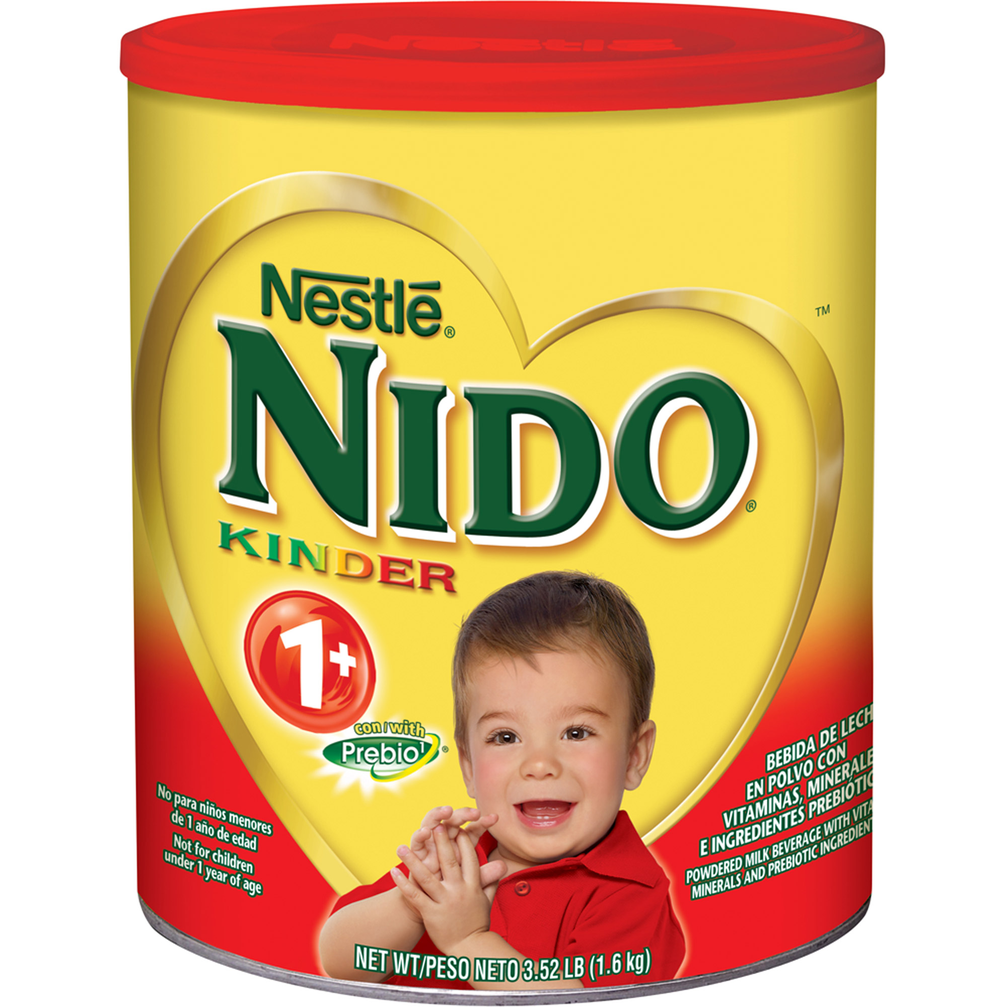 Nestle Nido Kinder 1  Powdered Milk Beverage, 3.52 lbs