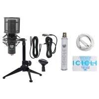 Rockville RCM Pro Gaming Twitch Recording Microphone+Stand+Shockmount+Pop Filter