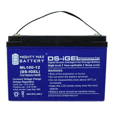 "12V 100AH GEL Battery Replaces NaceCare TTB1620 20"" Twintec Scrubber"