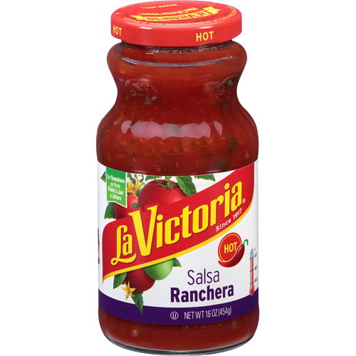 La Victoria Hot Salsa Ranchera, 16 oz
