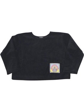 Mulberribush Toddler Girls Long Sleeve Velour Shirt Top, 8030 Brown Teapot / 6/6X
