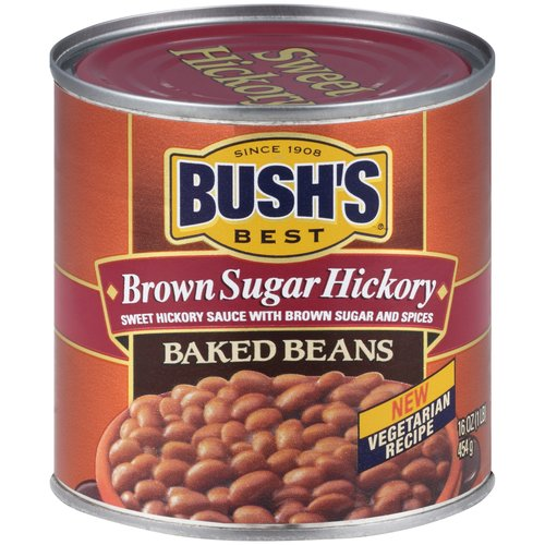 Bush's Best Brown Sugar Hickory Baked Beans 16 oz. Can by Bush Brothers & Company