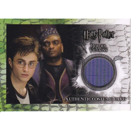 Harry Potter and the Order of the Phoenix Kingsley Shacklebolt Authentic Costume Card - Phoenix Costume