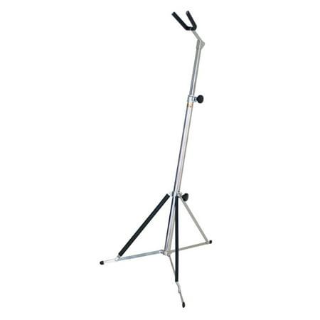 hamilton guitar hanger stand chrome. Black Bedroom Furniture Sets. Home Design Ideas