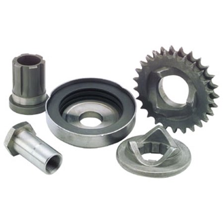 Bikers Choice Replacement Extended Shaft Extension for Compensating Sprocket and Cover Kit  1/2in