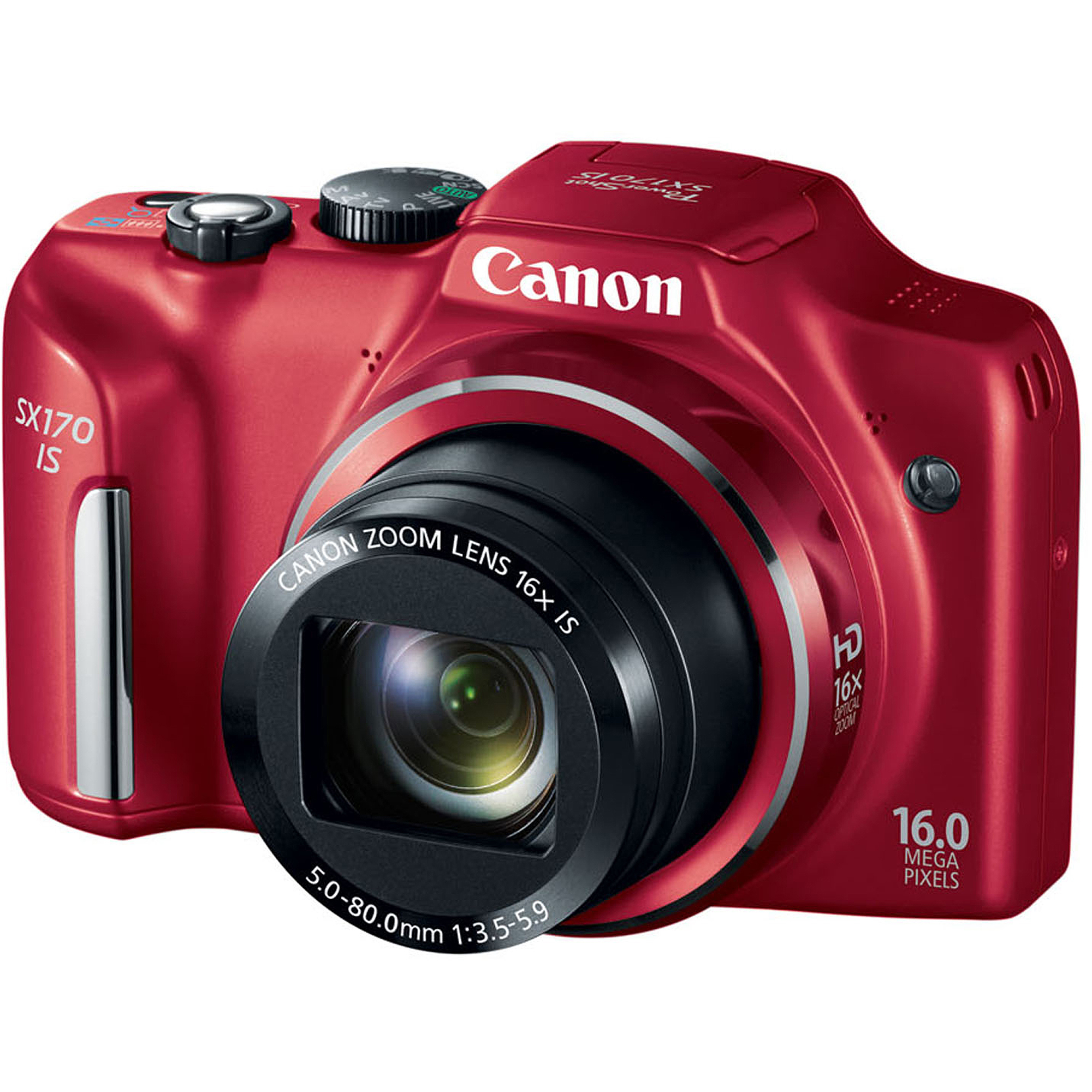 Canon PowerShot SX170 IS 16MP 16x Optical Zoom Camera