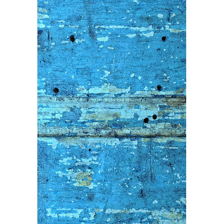 Shadow Rust Outdoor Wall Mount (LAMINATED POSTER Iron Wood Rust Shadows Paint Color Texture Poster Print 24 x 36 )