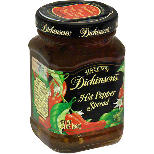 Dickinson's Hot Pepper Spread, 9.5 oz (Pack of 6)