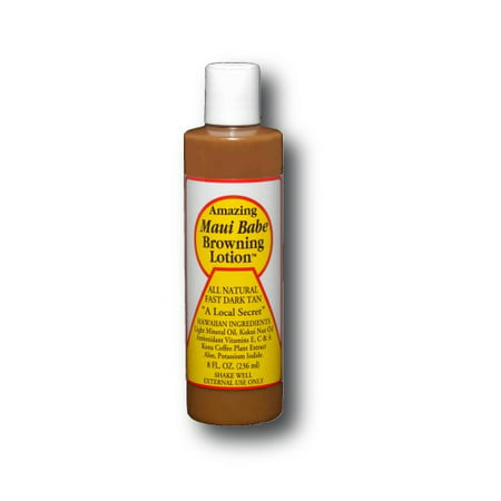 how to use maui babe browning lotion