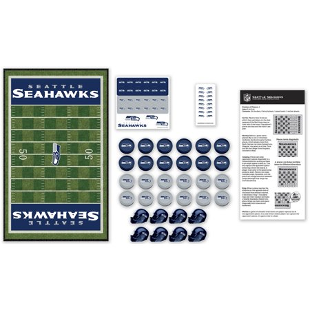 MasterPieces NFL Seattle Seahawks Team Checkers Seattle Seahawks Nfl Corkscrew
