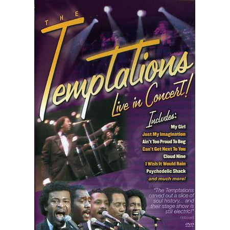 The Temptations: Live in Concert (DVD) - Halloween Live Concert