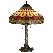 Colonial Tulip Table Lamp