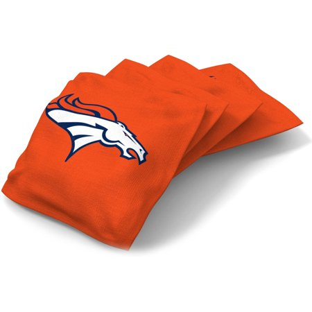 Wild Sports NFL Denver Broncos XL Bean Bag 4pk