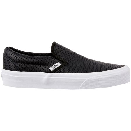 94f55a96c3c5 Vans - Vans Perf Leather Slip-On Shoes (Black White