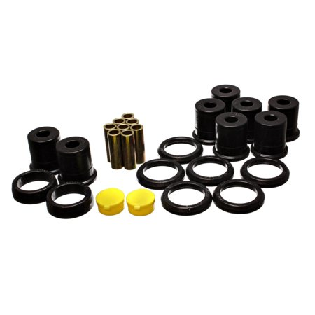 Energy Suspension 92-97 Crown Victoria / 92-97 Grand Marquis Black Rear End Control Arm Bushing Set