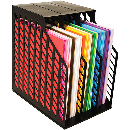 Storage Solutions Easy Access Paper Holder Black