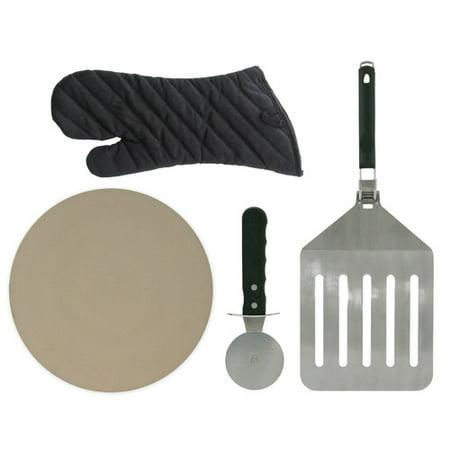 Fajita Platter (Mr. Bar-B-Q Cast Iron Ribbed Fajita Platter Set)