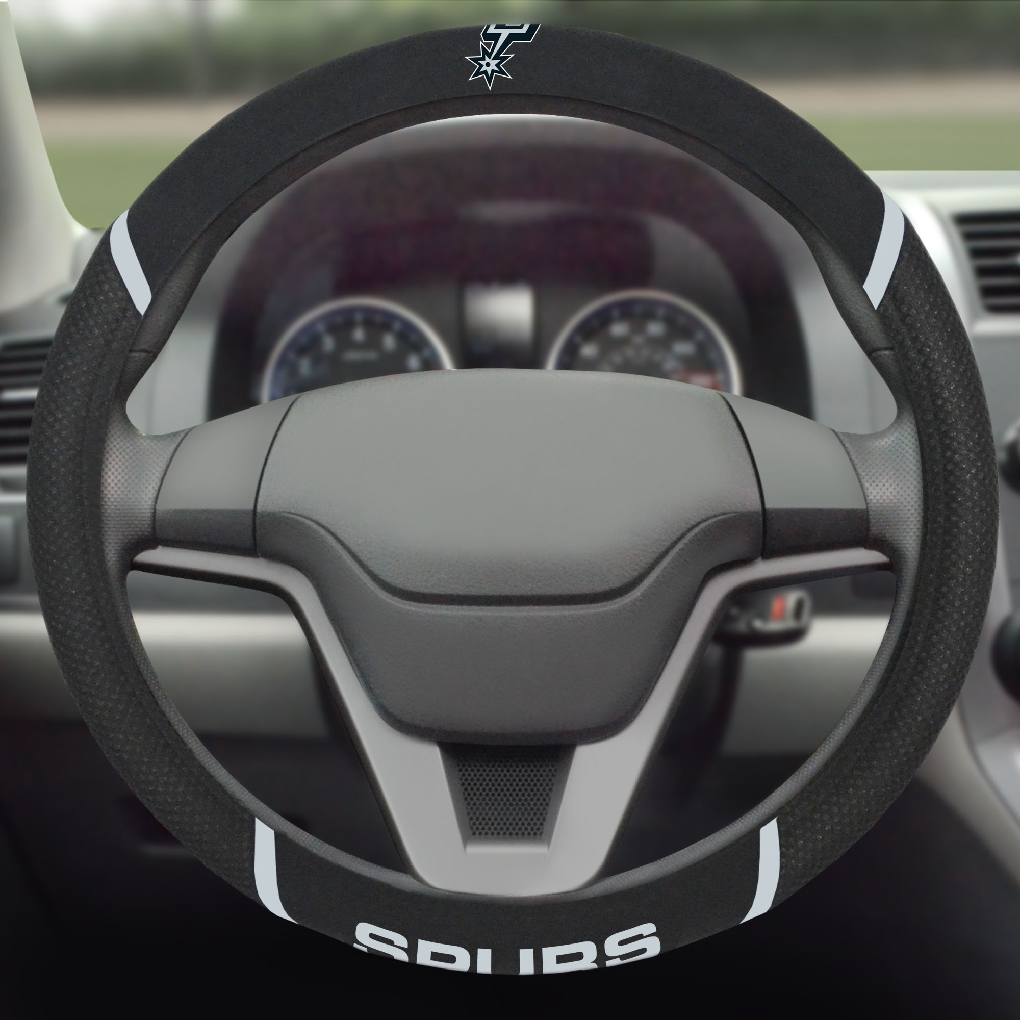 San Antonio Spurs Steering Wheel Cover - No Size