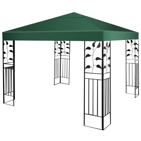 Costway 9.8' x 9.8' Gazebo Top Cover Patio Canopy Replacement 1-Tier - image 9 of 9