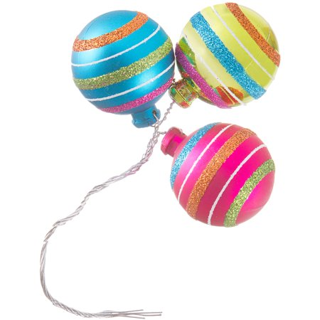 Stripes - 40mm Ornament X3 Pick