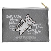Big Bang Theory Kitty Accessory Pouch White 8.5X6