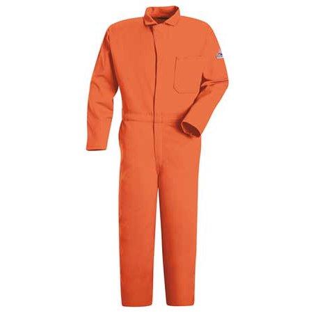 BULWARK CEC2OR LN XXL FR Contractor Coverall, Orange, 2XL, HRC2 ()