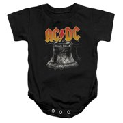 ACDC Hell's Bells Unisex Baby Snapsuit