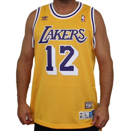 Vlade Divac Los Angeles Lakers Adidas NBA Throwback Swingman Jersey - Gold for $<!---->