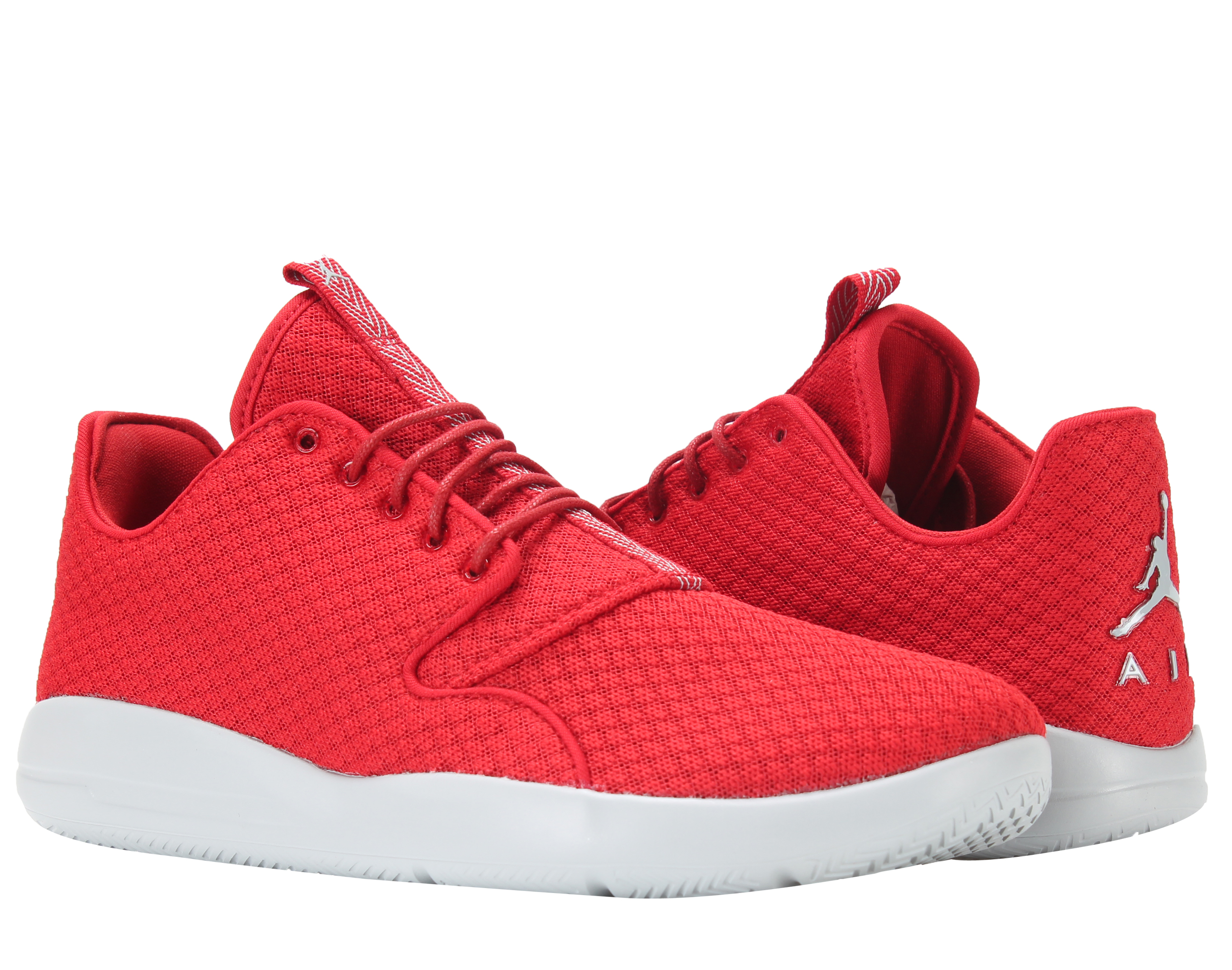 Nike Air Jordan Eclipse Gym Red/Wolf Grey Men's Shoes 724010-614 - Walmart.com