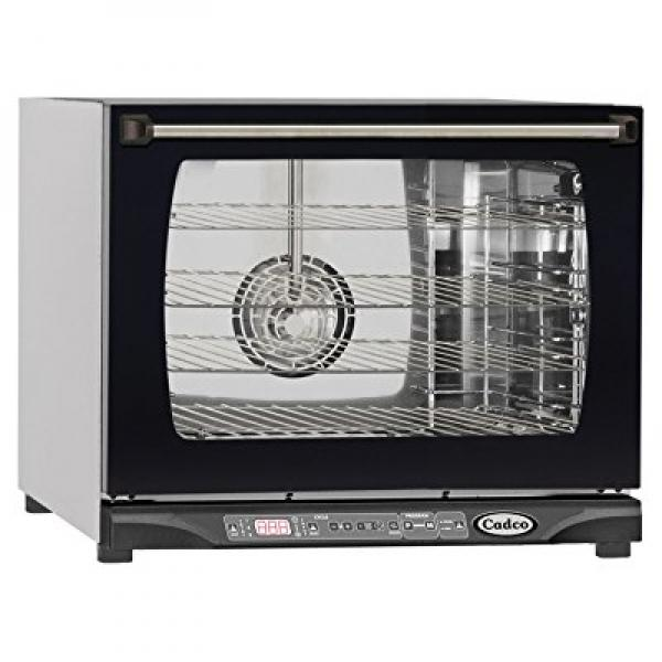 Cadco XAF-135 Half Size Convection Oven with Digital Dynamic Controls and Humidity, 208-240-Volt 2700-Watt,... by Cadco