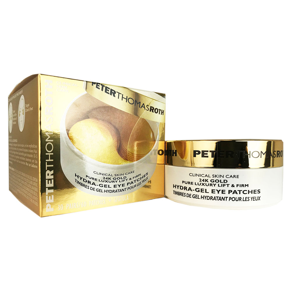 Peter Thomas Roth 24K Gold Pure Luxury Lift & Firm Hydra-Gel Eye Patches 60 ct