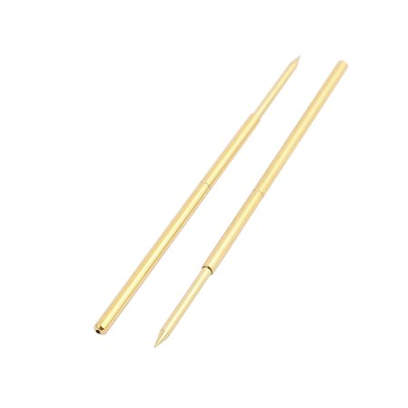 100pcs PAL75-B1 1.0mm Dia 33.3mm Length Metal Spring Pressure Test Probe Needle - image 1 of 2