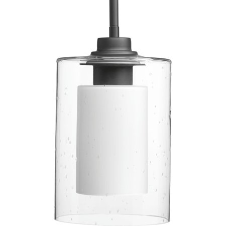 Double Glass Collection One-Light Mini-Pendant