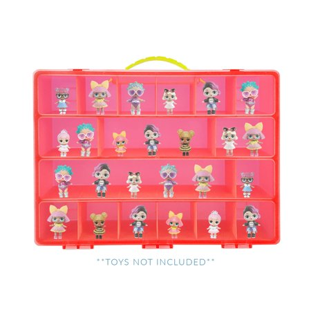 Life Made Better LOL Surprise Case, Toy Storage Carrying Box. Figures Playset Organizer. Accessories For Kids by LMB