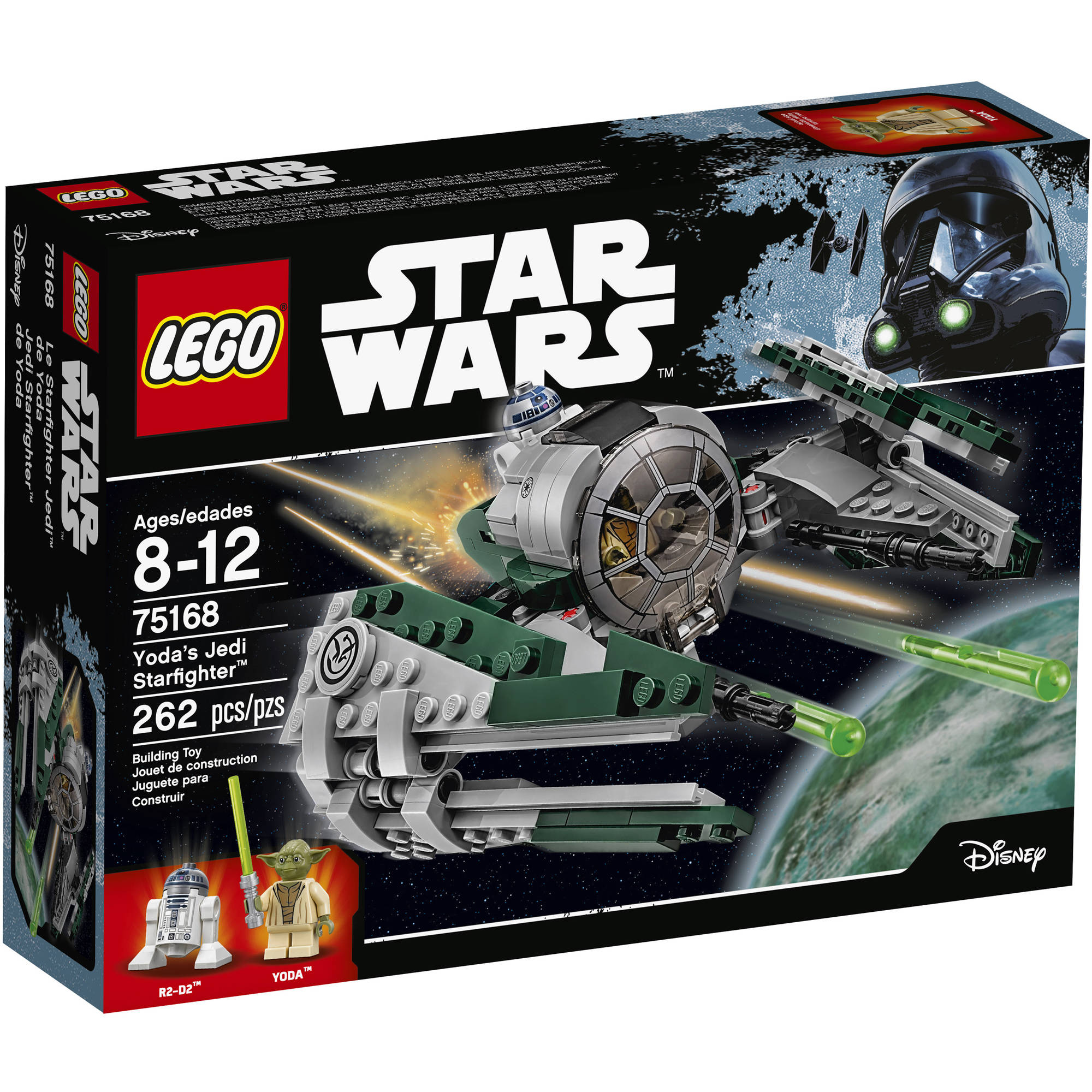 LEGO Star Wars Yoda's Jedi Starfighter (75168)