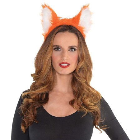Fox Ears Headband Adult Costume Accessory - Fox Tail Costume Accessories