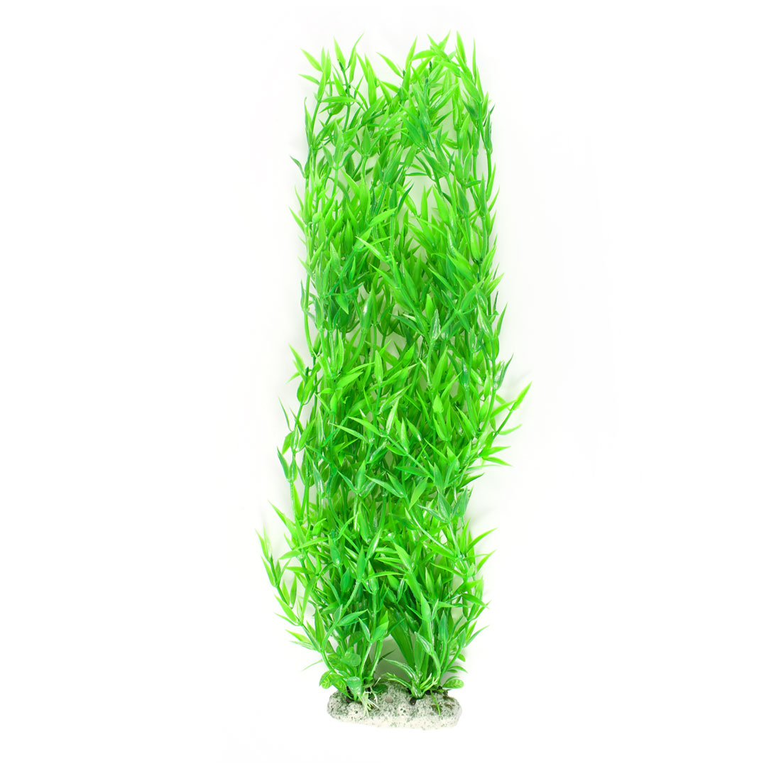 "16.9"" Higth Green Plastic Underwater Plants Grass Aquarium Decor by"