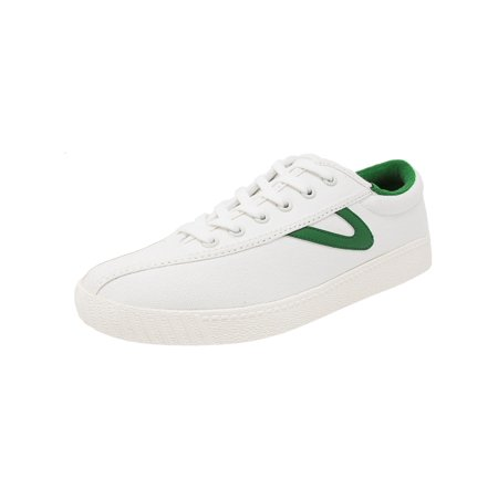 b2d233ffb Tretorn - Tretorn Women's Nylite Plus Canvas Vintage White / Green Fashion  Sneaker - 8.5M - Walmart.com