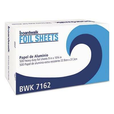 Boardwalk Pop-Up Aluminum Foil Wrap Sheets, 9 x 10-3/4, 500 Sheets ()