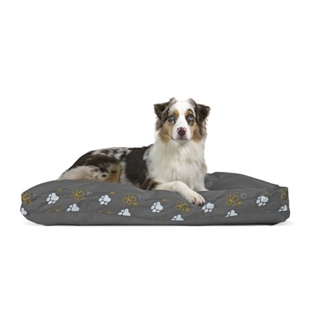 Furhaven Pet Dog Bed Deluxe Indoor Outdoor Garden Pillow